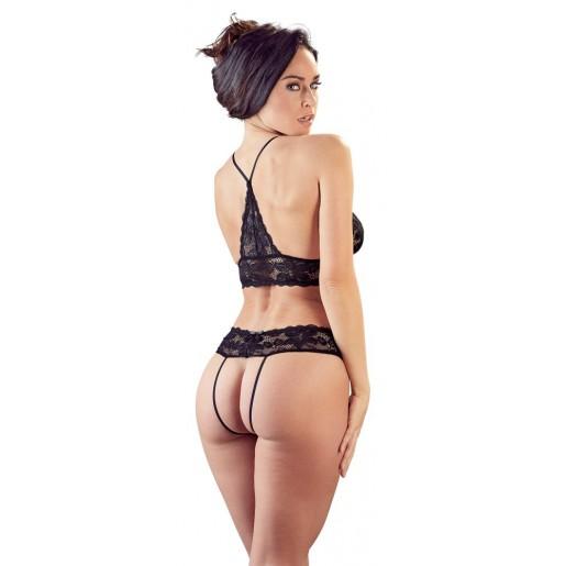Koronkowy komplet bielizny erotycznej Cottelli Collection