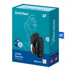 Satisfyer Little Secret wibrator do majtek sterowany aplikacją
