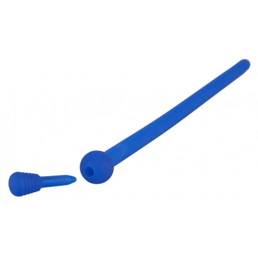 Silikonowy dilator z korkiem PenisPlug