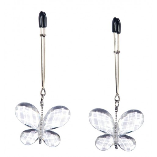Klamerki na sutki z ozdobnymi motylkami Butterfly Bad Kitty