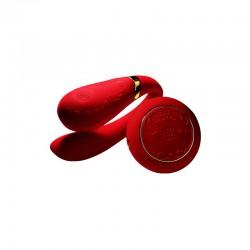 Zalo Fanfan Set czerwony wibrator dla par