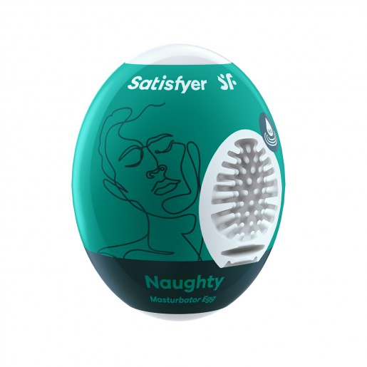 Jednorazowy masturbator Satisfyer Egg Naughty