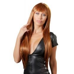 Miedziowa peruka z włosami do ramion Cottelli Collection