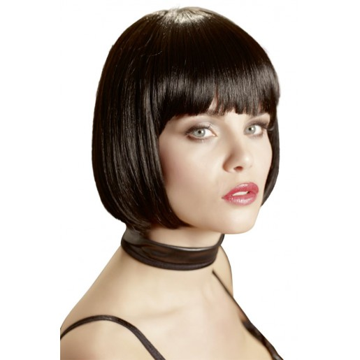 Czarna peruka prosty bob Mia Cottelli Collection