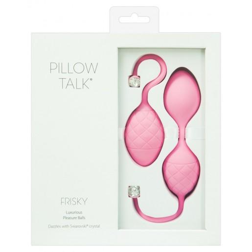 Różowe kulki gejszy Pillow Talk Frisky
