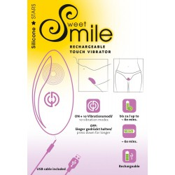 Wibrator do majtek Sweet Smile Rechargeable Touch