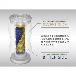 Dwustronny masturbator Premium Dual Sensation Cup Tenga