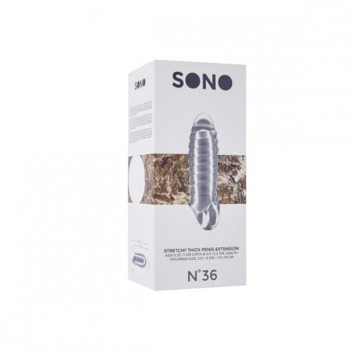 Nakładka na penisa Sono NO36 bezbarwna
