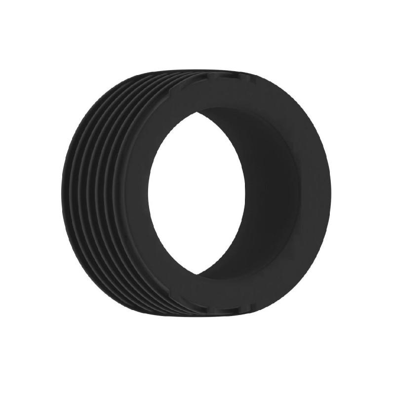Czarny pierścień erekcyjny Sono NO42