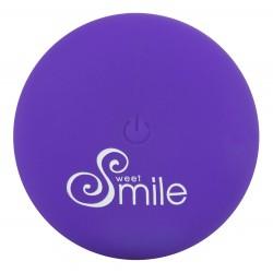 Korek analny z wibracjami sterowany pilotem Sweet Smile