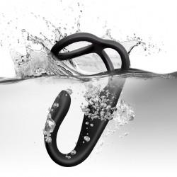 Rocks-Off The Vibe wibrujący masażer prostaty z pierścieniem erekcyjnym