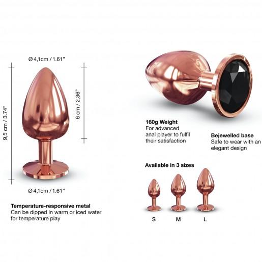 Dorcel Diamond Plug aluminiowy korek analny rozmiar L