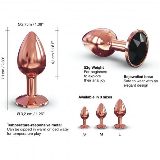 Dorcel Diamond Plug aluminiowy korek analny rozmiar S