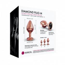 Dorcel Diamond Plug aluminiowy korek analny rozmiar M