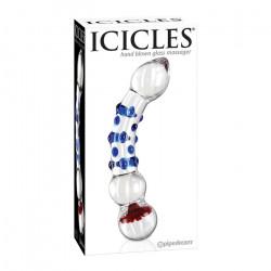 Dildo szklane Icicles nr 18