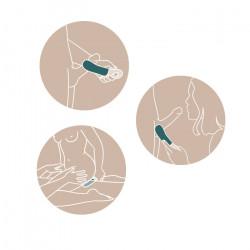 FUN FACTORY Manta wibrator dla mężczyzn morski