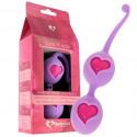 Feelz Toys fioletowe kulki gejszy Desi Love Balls