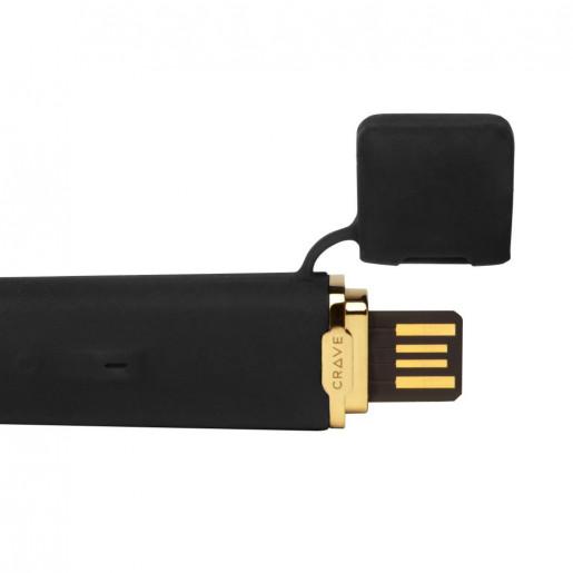 Wibrator - Crave Flex Vibrator Black Czarny