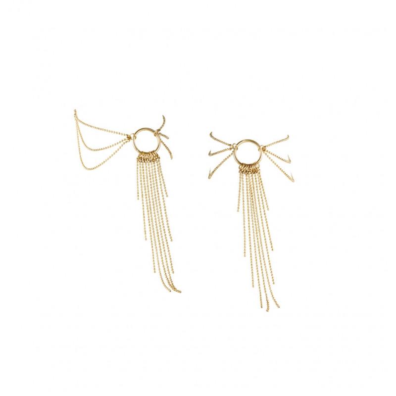 Łańcuszki na stopy Bijoux Indiscrets Magnifique złote