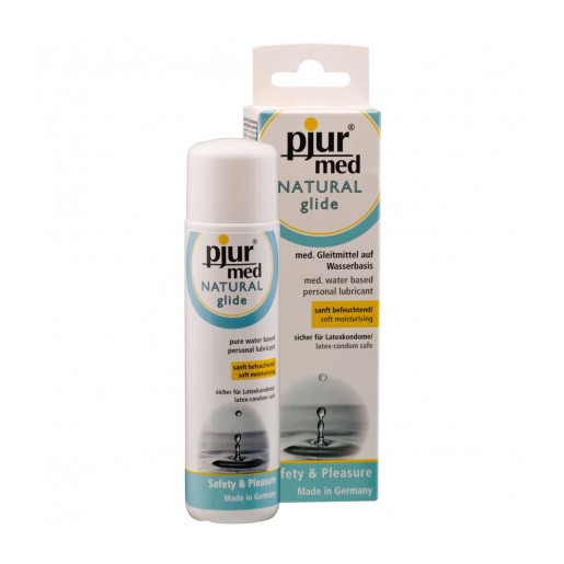 Naturalny lubrykant wodny pjur med NATURAL 100ml