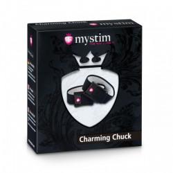 Opaski przewodzące do elektrostymulacji Mystim Charming Chuck
