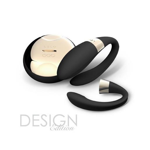 Czarny wibrator dla par LELO Tiani 2