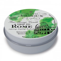 Świeca do masażu Petits Joujoux Rzym - grejpfrut i bargamotka