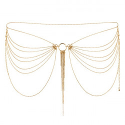 Łańcuszek na biodra Bijoux Indiscrets Magnifique (złoty)