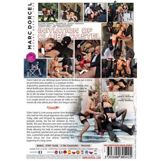 Film DVD Marc Dorcel - Initiation of Claire Castel