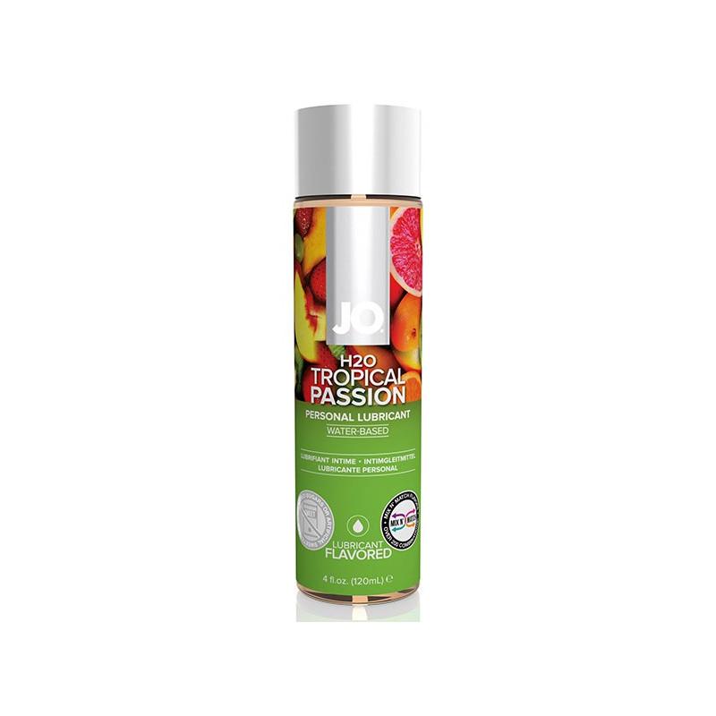 Lubrykant o smaku owoców tropikalnych System JO H2O 120 ml