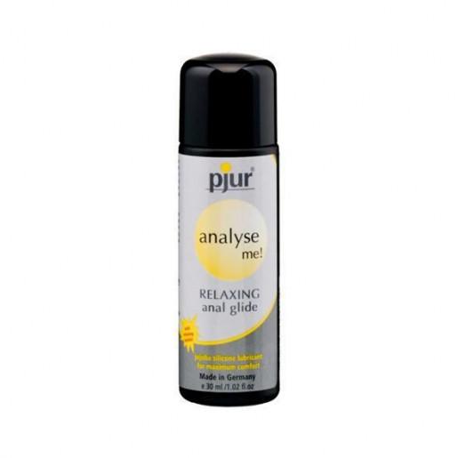Silikonowy żel analny pjur Analyse Me! Relaxing 30 ml