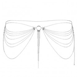 Łańcuszek na biodra Bijoux Indiscrets Magnifique (srebrny)