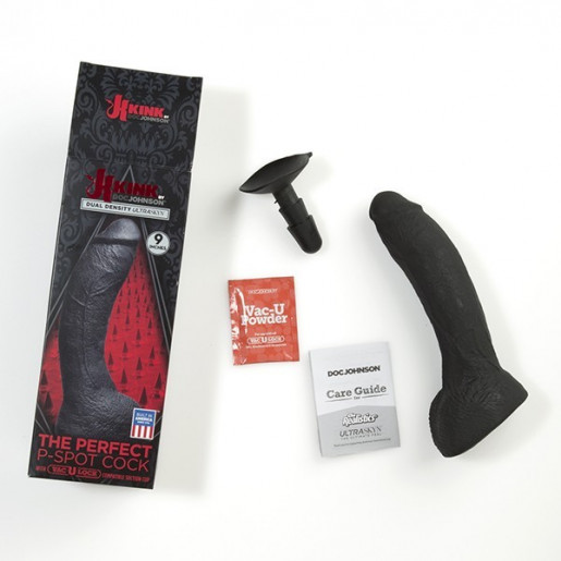 Kink The Perfect P-Spot Cock With Removable Vac-U-Lock™ Suction Cup