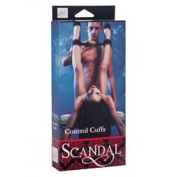 Kajdanki BDSM na rzepy SCANDAL CONTROL CUFFS