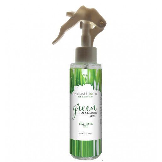Spray czyszczący do zabawek erotycznych Intimate Earth Green Tea 125ml