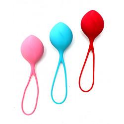 Zestaw 3 progresywnych kulek gejszy Satisfyer Balls Single