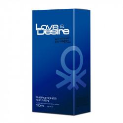 Perfumowane feromony dla mężczyzn Love&Desire Pheromones 50ml