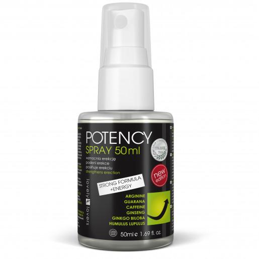 Spray poprawiający erekcję Lovely Lovers POTENCY 50 ml