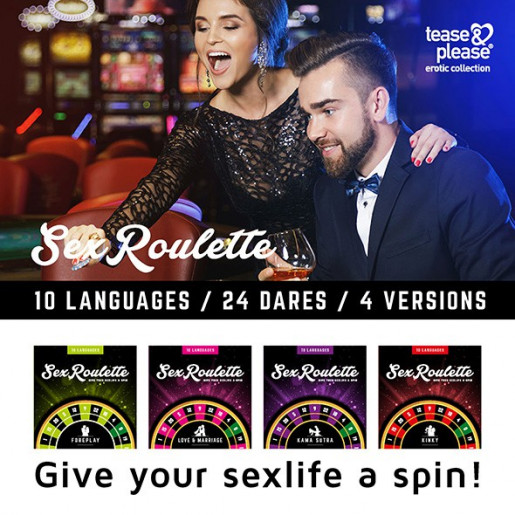 Erotyczna ruletka Tease&Please Sex Roulette Love & Marriage