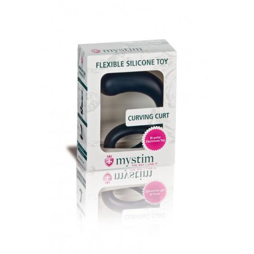 Stymulator prostaty Curving Curt E-Stim z elektrostymulacją Mystim