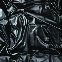 Czarne winylowe prześcieradło JoyDivision Feucht-Spielwiese 180 x 260