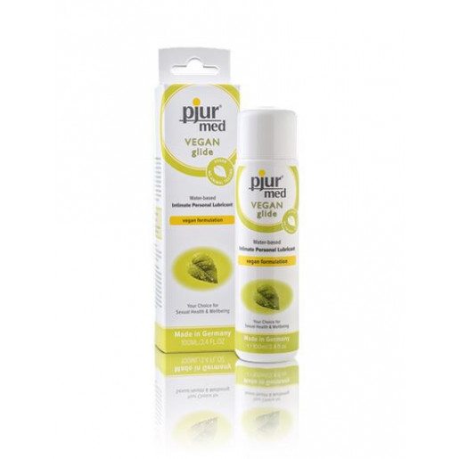Naturalny lubrykant wodny pjur med VEGAN Glide 100 ml