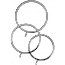 Zestaw trzech pierścieni do elektrostymulacji Electrastim
