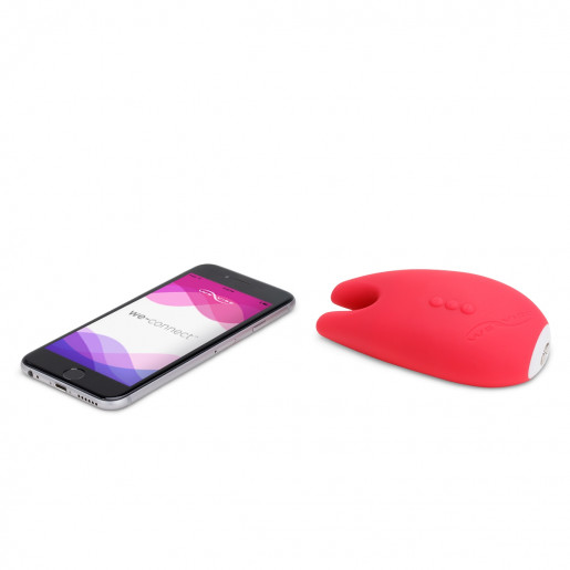 Masażer łechtaczki sterowany telefonem We-Vibe Gala koralowy