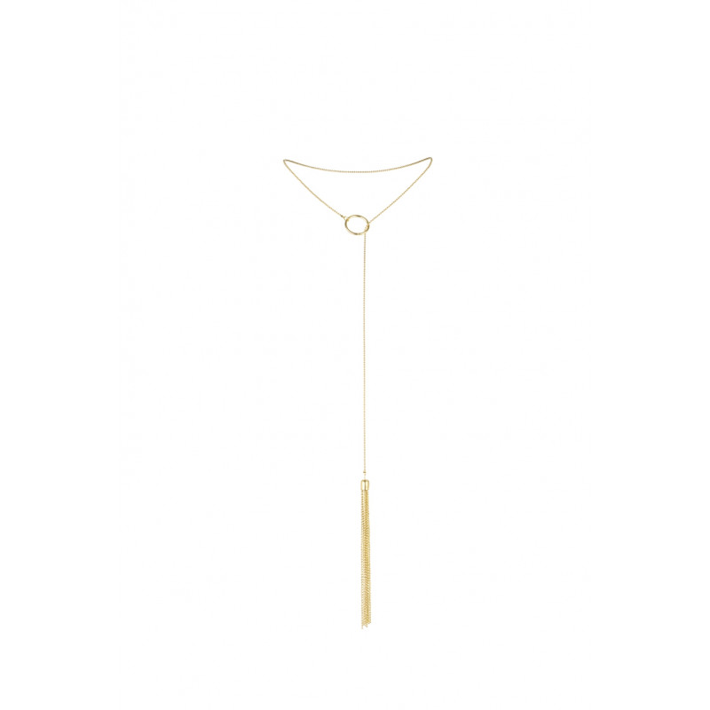 Naszyjnik z pejczykiem Bijoux Indiscrets Magnifique złoty