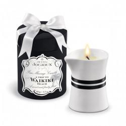 Petits Joujoux zapachowa świeca do masażu - kokos i ananas