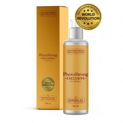 Olejek do masażu z feromonami PheroStrong Exclusive dla kobiet