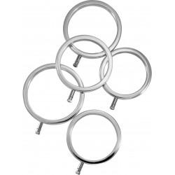Zestaw pięciu pierścieni do elektrostymulacji Electrastim
