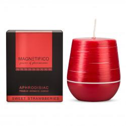Zapachowa świeca z feromonami MAGNETIFICO truskawka