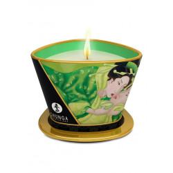 Świeca do masażu Shunga - zielona herbata